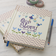 our son story, journal for son, baby gift